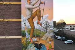 Hatching of the Humanity Aec Interesni kazki Heerlen Murals3
